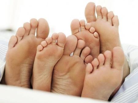 Как избавиться от грибка ног
