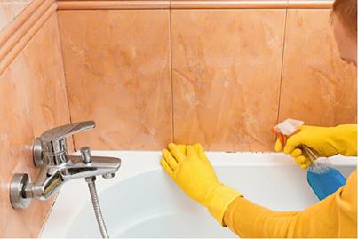 Как избавиться от грибка в ванной?